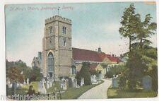 Beddington, St. Mary's Church, 1905 Canon Series Postcard, B514
