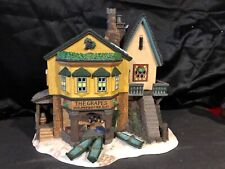 "Dpt 56 Heritage Dickens #5753-4 Village Series ""The Grapes Inn"" 5Th Edition 1996"