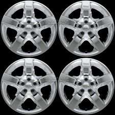 "17"" Chrome Set of 4 Wheel Covers Full Rim Hub Caps fit R17 Tire & Steel Wheels"