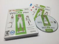 Wii Fit Plus (Nintendo Wii, 2009) Workout Video Game Complete with Manual TESTED