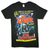 Rob Zombie Great American Nightmare Black T Shirt New Official Merch Graveyard
