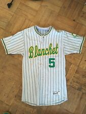 Vintage Bishop Blanchet Seattle High School Softball Jersey Size 40 Number 5