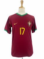 Nike Portugal Men's Football Soccer Shirt Jersey 2004 Cristiano Ronaldo Size L