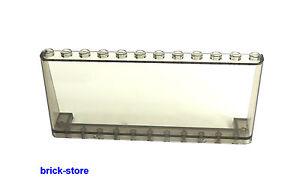 LEGO® 2x12x5 schräggroßes transparent rauch 60050 Fenster  Cockpit