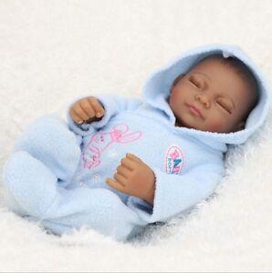 11'' Handmade Reborn Dolls Silicone Boy Model Lifelike Realistic Baby Toys