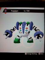 Shiny Regigigas, Regirock, Regice And Registeel (Pokémon Sword And Shield)