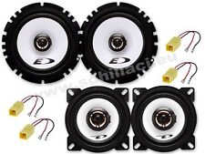 Kit 4 Speakers for FIAT PUNTO 2/3  Alpine with adapters
