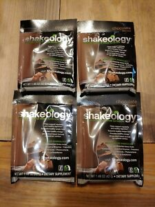 Shakeology Chocolate 4 Packets EXP 12/2021 Fast Shipping!!!!