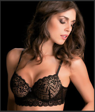 Reggiseno Donna Love And Bra Chantal Coppa B Con Ferretto Imbottito in Pizzo