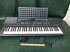 Vintage Yamaha Portable Electronic Keyboard Psr-400 W/ Stand & Foot Pedal