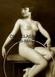 SEXY GIRL LOUISE BROOKS LULU 5X7 PHOTO ALFRED CHENEY JOHNSTON ZIEGFELD FOLLIES