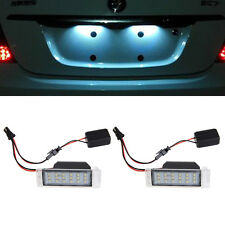 1 Pair License Plate Light For Chevrolet Cruze 2009-2014 Camaro 2010-2013