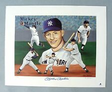 New York Yankees Mickey Mantle Signed 16x20 Photo Autograph Auto JSA GAI HOF'er