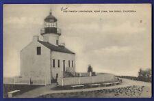 Old Spanish Lighthouse Point Loma San Diego California