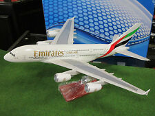 "AVION AIRBUS A380 "" EMIRATES "" blanc o 1/200 AIRPLANE MODEL miniature collection"