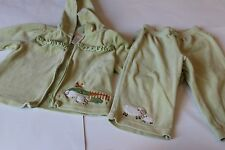 GYMBOREE Girl 18-24month 2pcs hooded sweatshirt and pants, sheep collection
