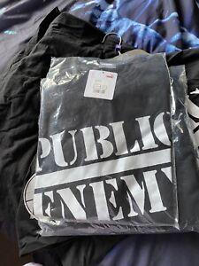 Puma Black Public Enemy - T shirt L