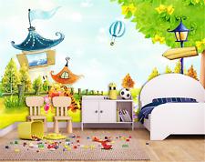 3D Cartoon House 727 Wallpaper Mural Paper Wall Print Wallpaper Murals UK Carly