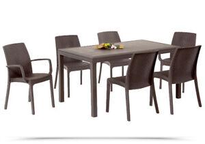 Tavoli Da Esterno Sedie In Rattan Acquisti Online Su Ebay