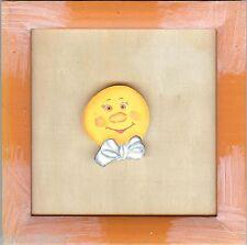 RICO DESIGN  07602  Cadre carré avec Motif Lune à coller