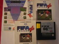 FIFA  Soccer 96  SEGA MEGA DRIVE gebraucht