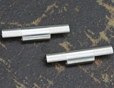 Steel NSA band end pair 10mm center u pick 18mm 19mm 20mm 21mm 22mm or 24mm ends