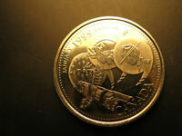 Canada 1999 Millennium January Gem Mint 25 Cent Coin IDJ.