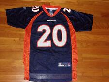 REEBOK DENVER BRONCOS BRIAN DAWKINS NFL FOOTBALL JERSEY BOYS MEDIUM 10-12 EXC.