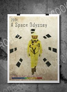 2001: A Space Odyssey Retro Print/ Poster - Digital Fan Art Stanley Kubrick A3