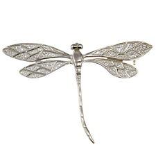 sterling silber libelle brosche mit präsentation geschenkbox