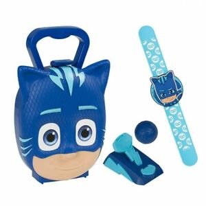 NEW PJ Masks Catboy Case Activity Toy Snap Band, Fur Balls & Launcher Kids Gift!