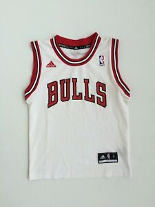 Original Adidas Chicago Bulls NBA Size S Boys Kids Youth Basketball Jersey Shirt