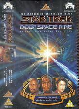Star Trek Deep Space Nine VHS 7:1 Image In The Sand/Shadows And Symbols