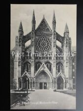 Old PC London: North Transept, Westminster Abbey