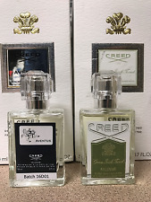 Creed Aventus 16D01 and Green Irish Tweed 30ml/1oz samples Cool bottles & deal!