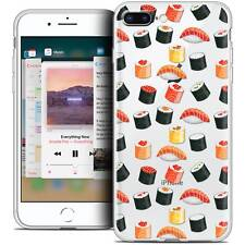 """Coque Crystal Gel Pour iPhone 8 Plus (5.5"""") Extra Fine Souple Foodie Sushi"""