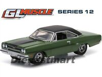 GREENLIGHT 1:64 Muscle Series 12 1970 Plymouth GTX - Lime Green DIECAST 13120F