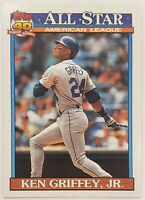 1991 Topps 40 Years of Baseball Ken Griffey Jr #392 All Star, Mariners, HOF