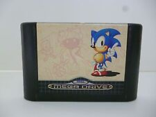 ☺ Jeux Sega Mega Drive Sonic The Hedgehog