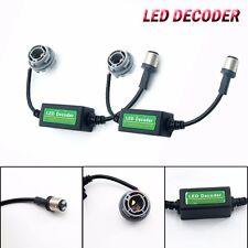 2pcs 1157 2057 2357 7528 BAY15D LED Decoder Adaptor Warning Error Free Canceller