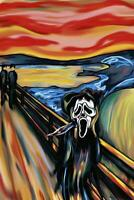 The Scream : Ghostface - Maxi Poster 61cm x 91.5cm new and sealed