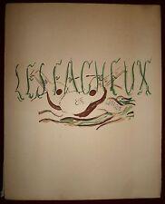 Braque Georges Lithographie 1924 Les Facheux Théatre Serge de Diaghilew Man Ray