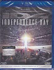 2 Blu-ray **INDEPENDENCE DAY** con W.Smith J.Goldblum ediz. speciale nuovo 1996