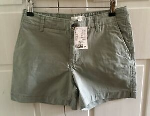H&M khaki shorts NEW WITH TAGS Size 8
