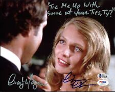 Chevy Chase & Cindy Morgan Caddyshack Authentic Signed 8X10 Photo BAS Witness 3