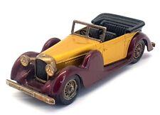 Matchbox Models Of Yesteryear Y-11 - 1938 Lagonda DHC - Gold Maroon