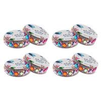 8 Rolls Rhinestone Sticker Tape Acrylic Diy Self-Adhesive Decoration Crystal