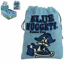 Blue Gum Nuggets Blue Raspberry Bubblegum Full Box of 24