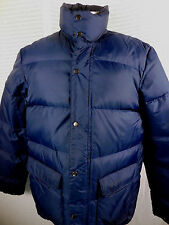 Vintage Saratoga Wesco Puffer Duck Down Jacket Mens L Winter Warm Classic Parka