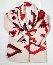 BillaBong South Western Lined Ranch Soft  Coat/Jacket Womens Size Large #J71DWAN